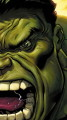 The Avengers Hulk green face
