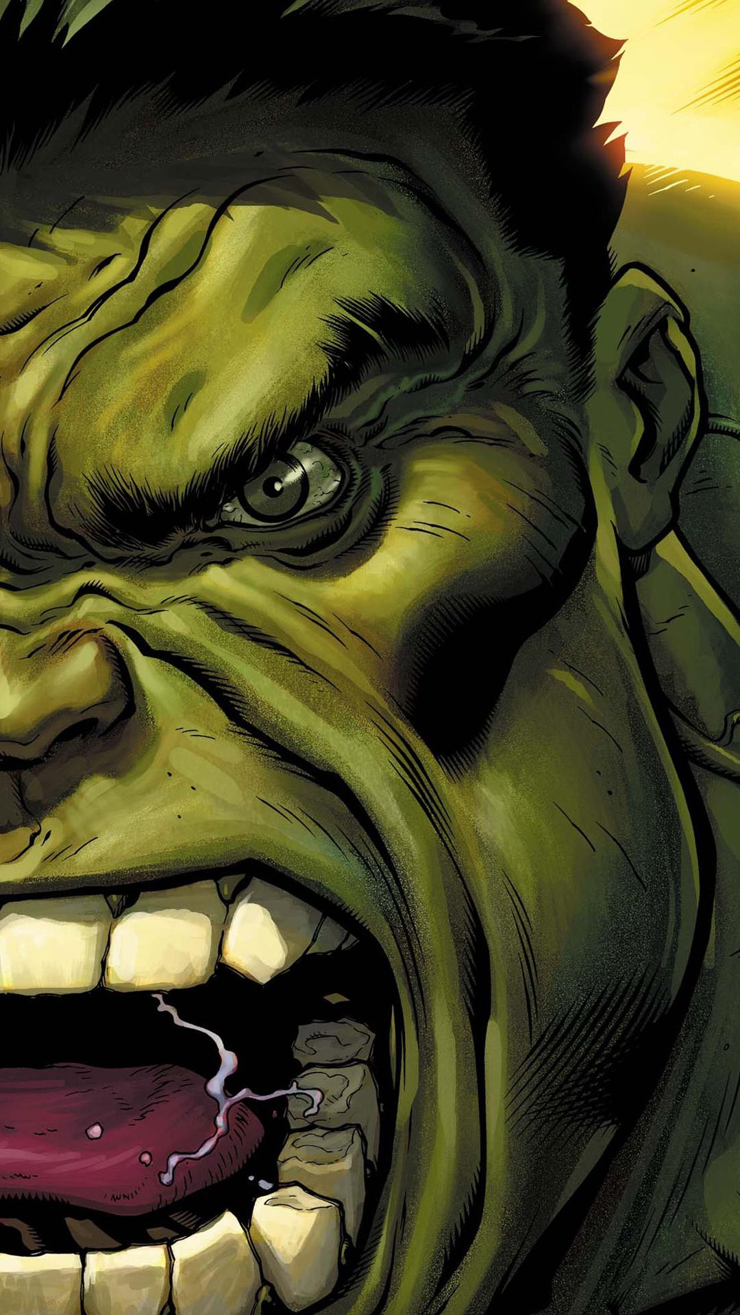 Hd wallpaper hulk - The Avengers Hulk Green Face
