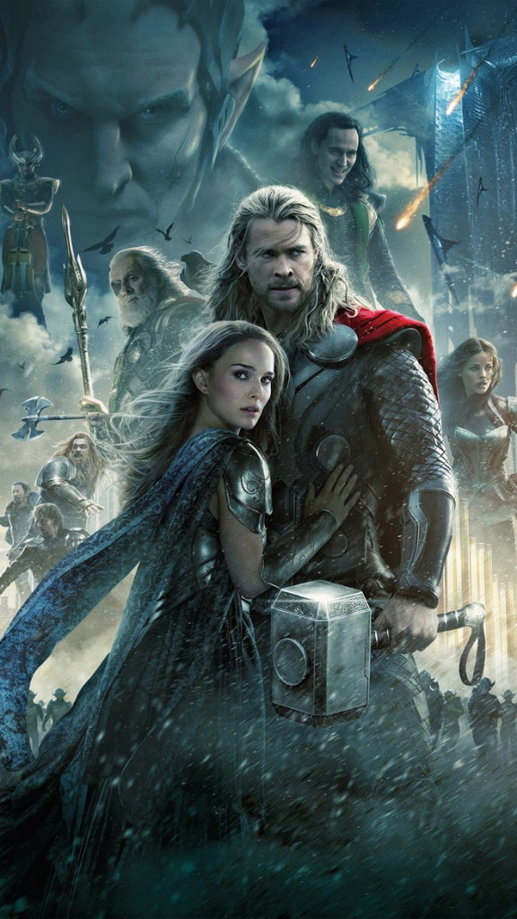 Thor The Dark World HTC hd wallpaper