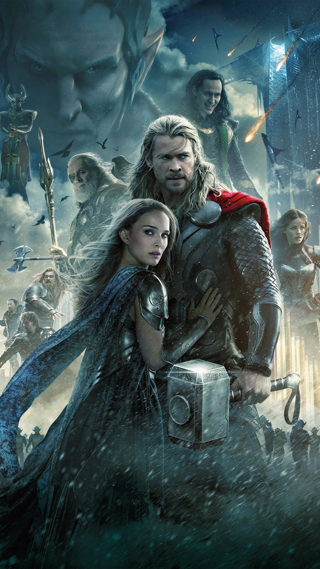 thor the dark world - best htc one wallpapers, free and easy to download