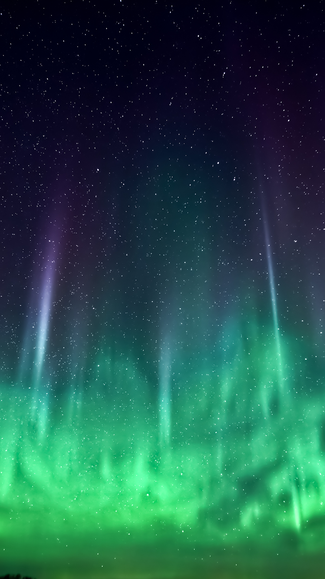 aurora borealis htc hd wallpaper - best htc one wallpapers