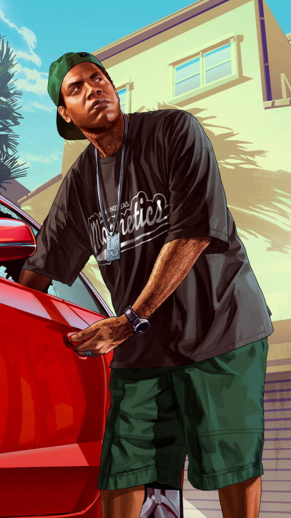 Grand theft auto 5 HTC hd wallpaper