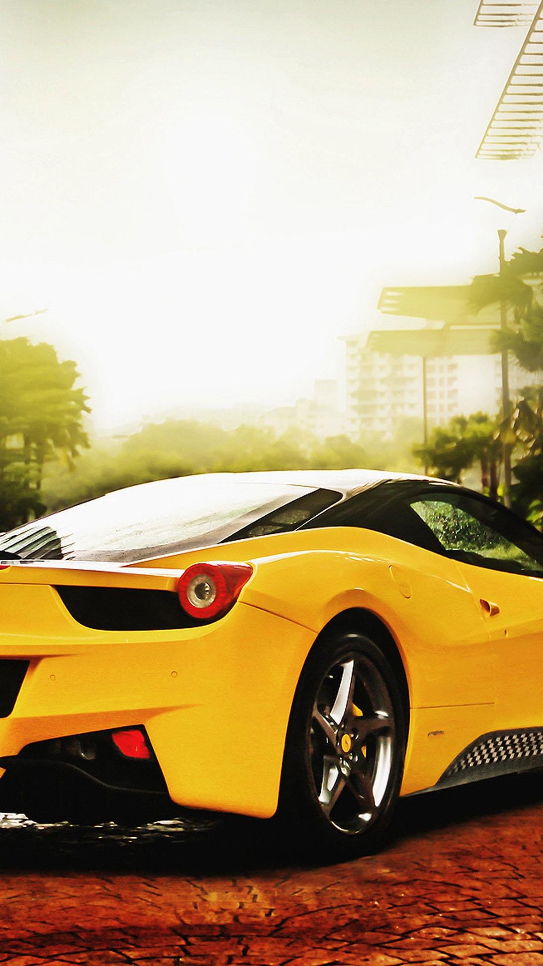 Ferrari 458 Italia HTC hd wallpaper