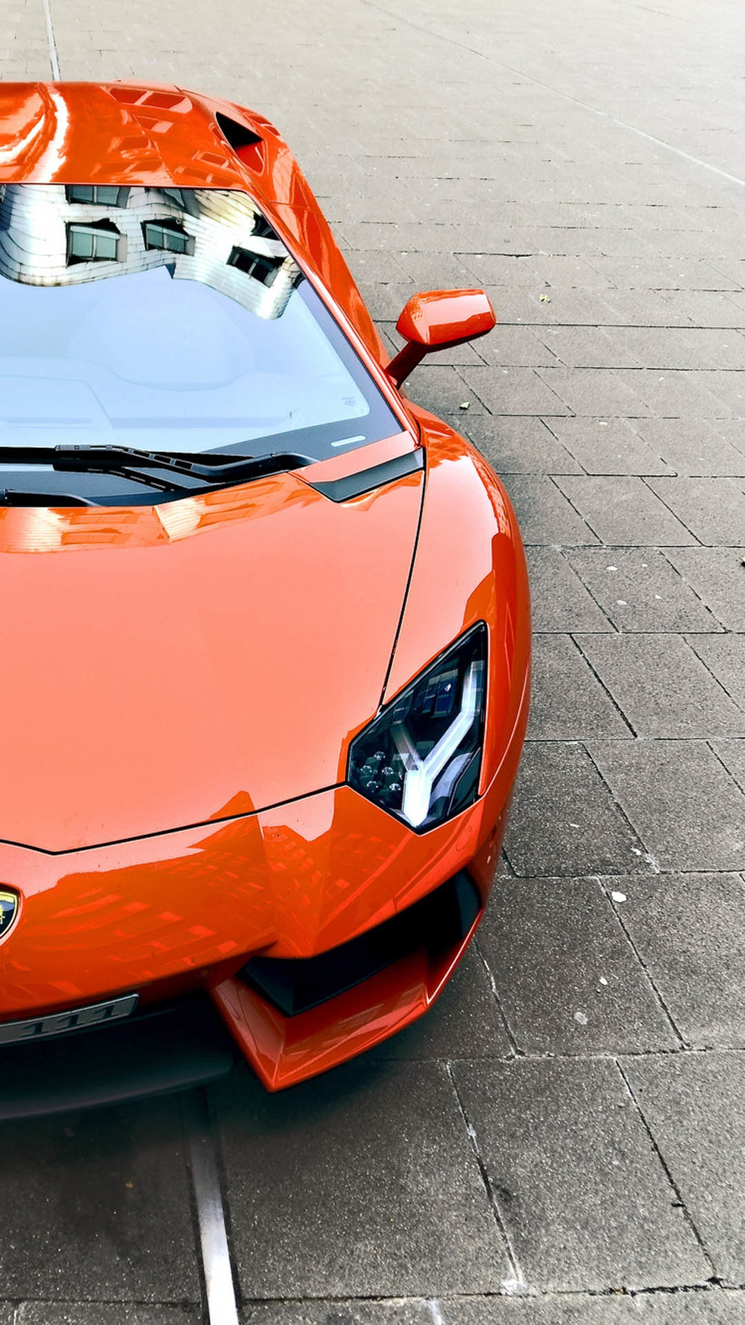 Lamborghini Aventador HTC hd wallpaper