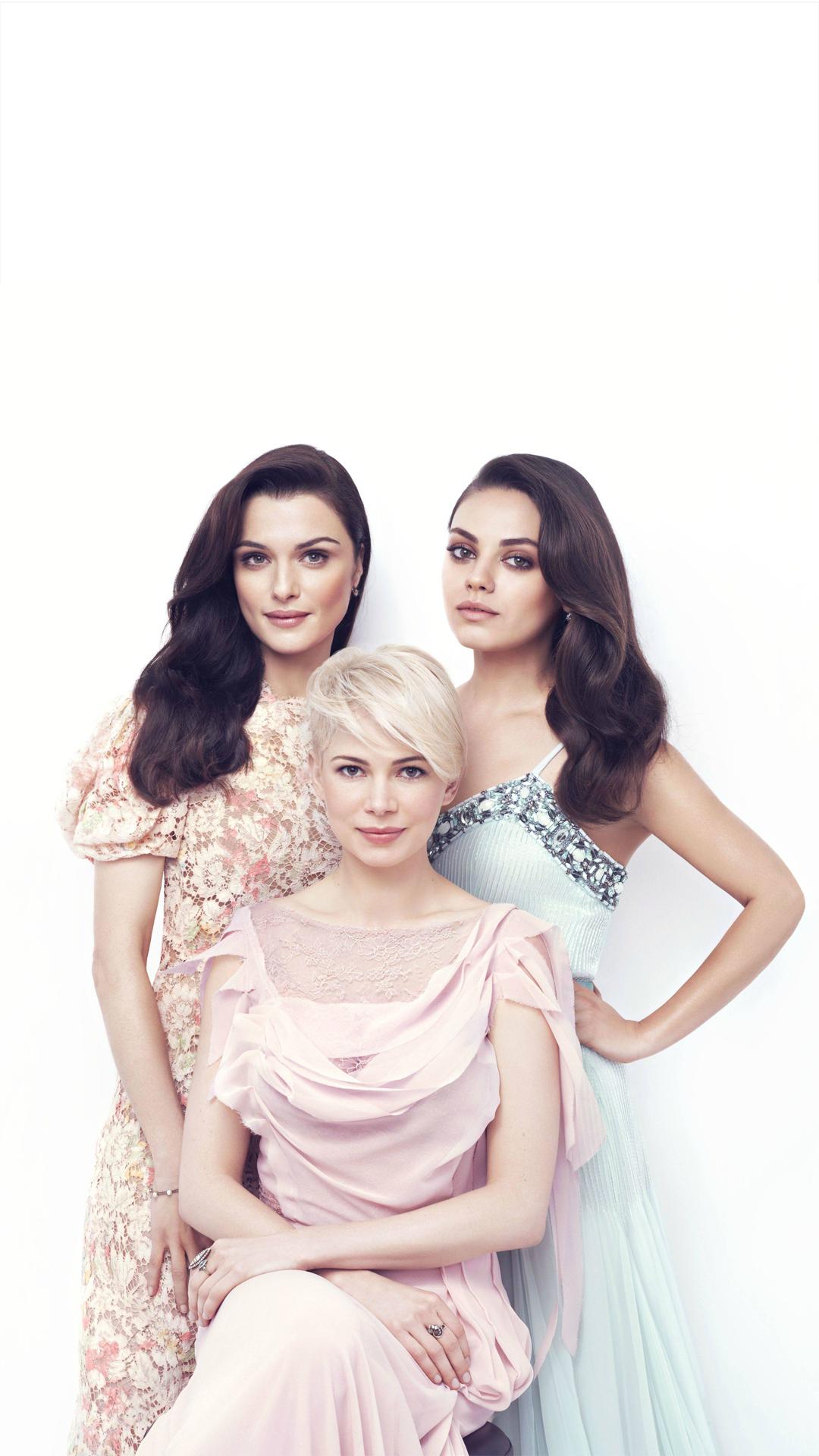 Mila Kunis, Michelle Williams & Rachel Weisz