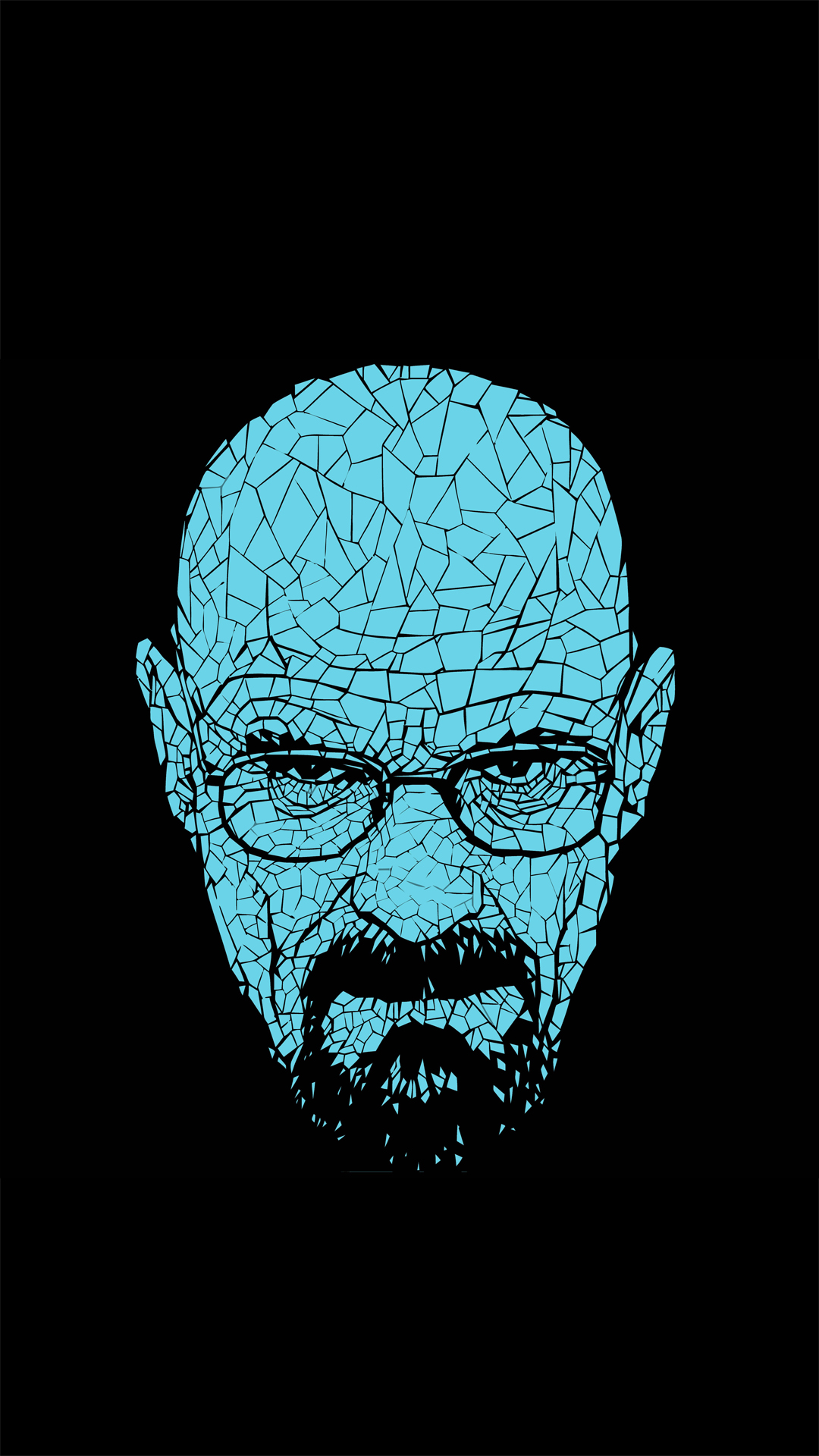 Heisenberg Breaking Bad HTC one wallpaper