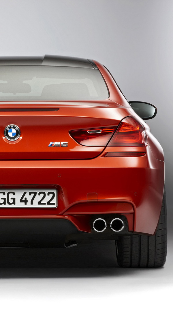 2013 Bmw M6 Coupe Back Best Htc One Wallpapers Free And
