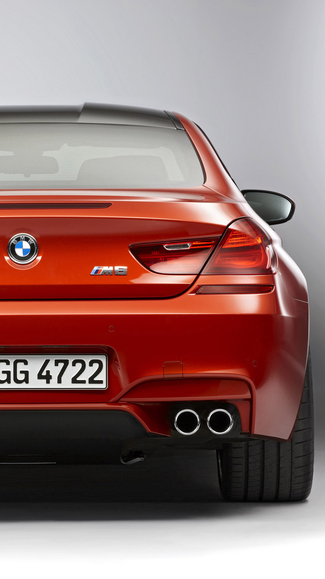 2013 BMW M6 coupe back