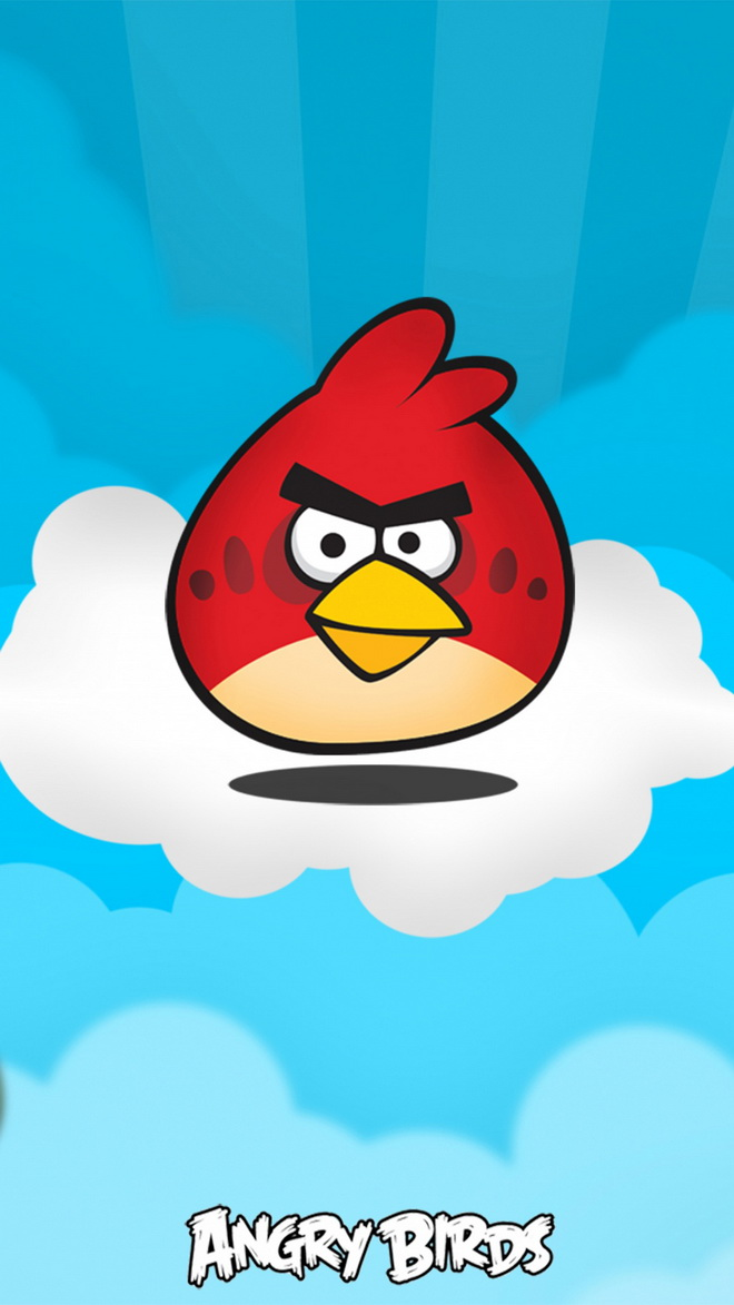 Angry Birds Htc One Wallpaper
