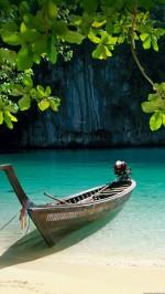 Boat - Ocean laguna