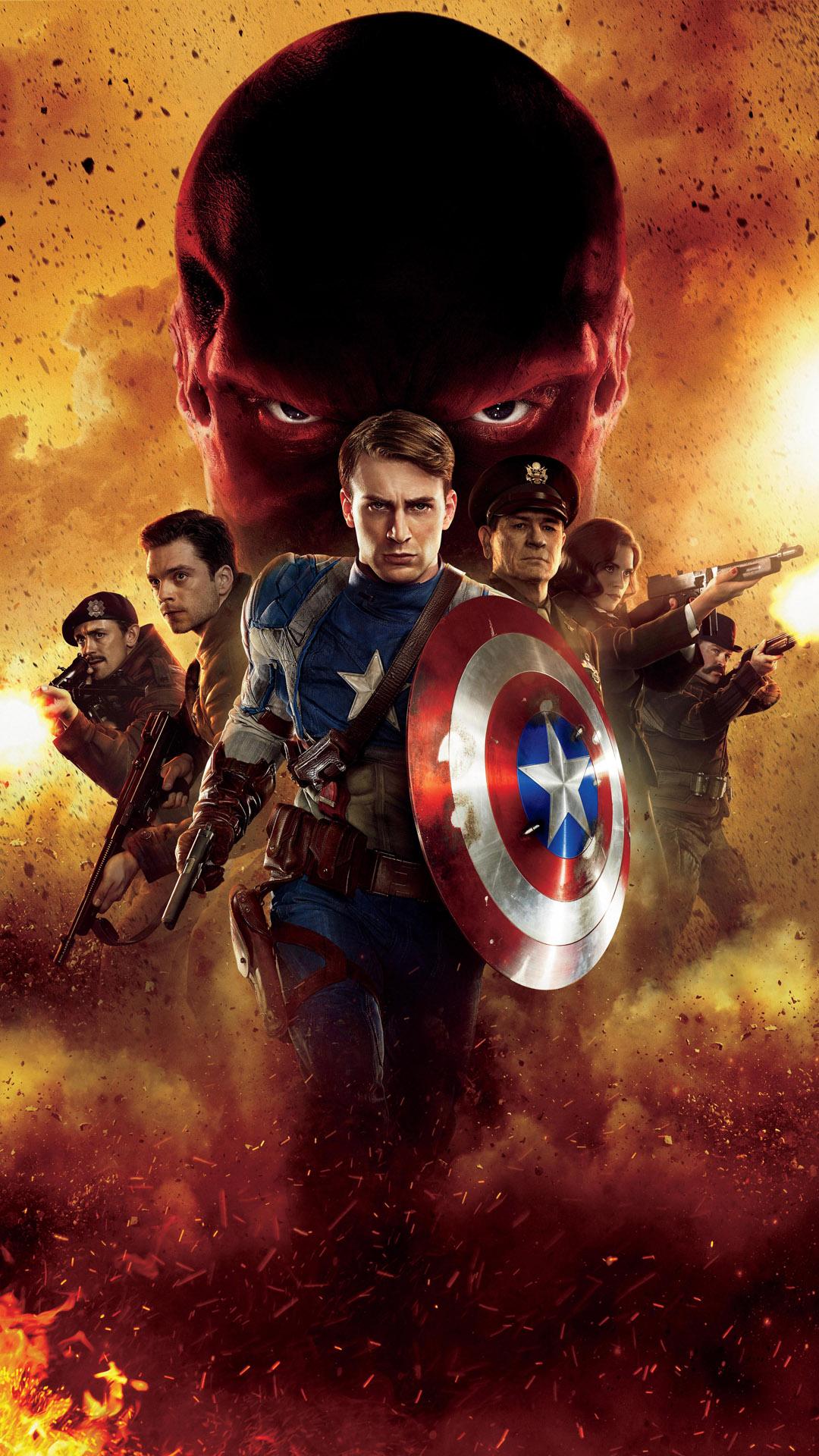 Captain America attack
