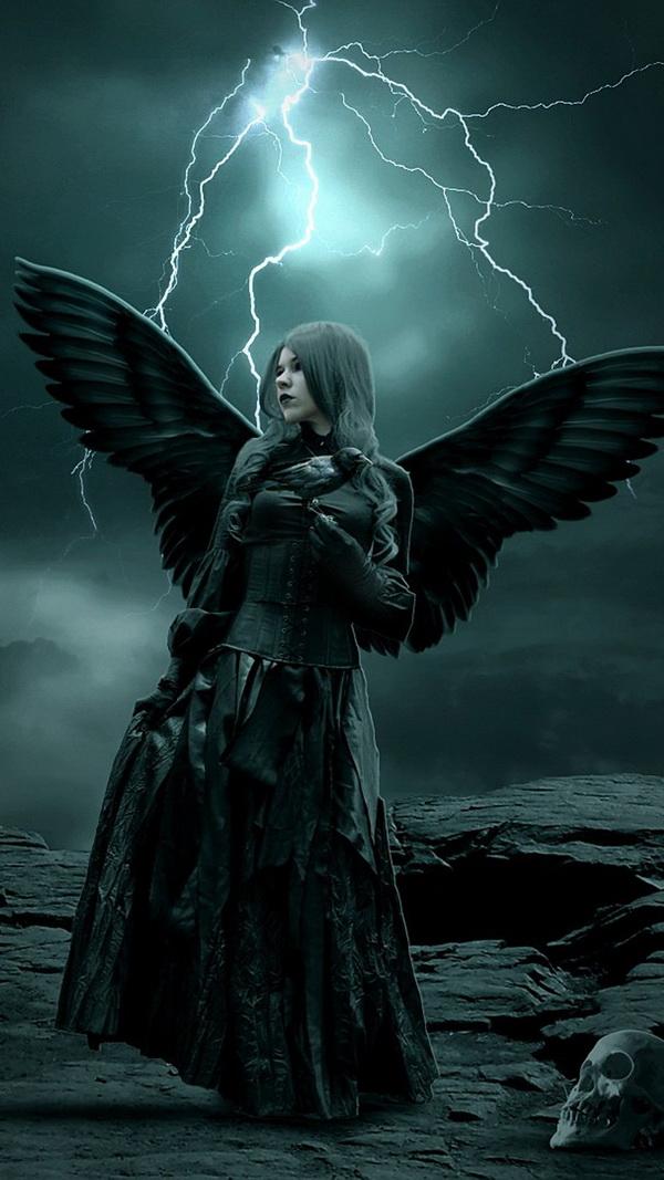 Dark angel Halloween