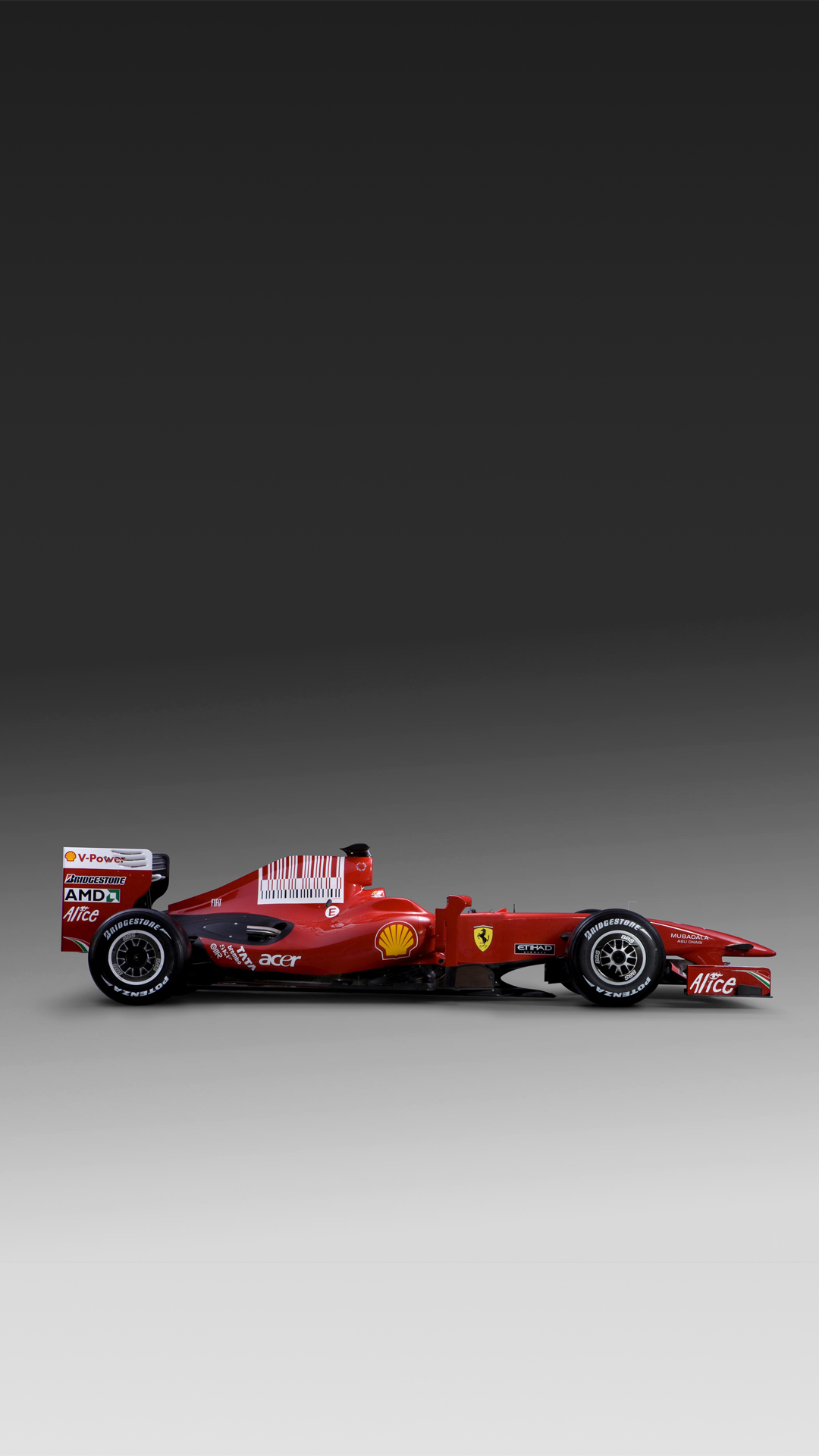 Ferrari F60 F1 car HTC one wallpaper