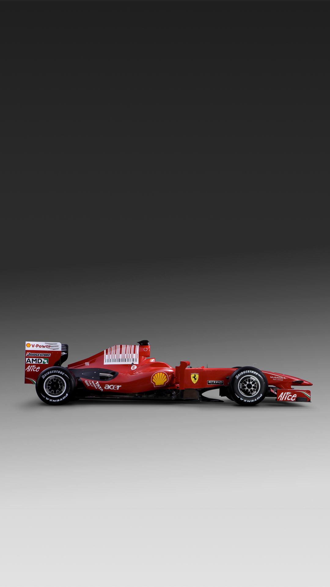 Ferrari F60 F1 car HTC one wallpaper