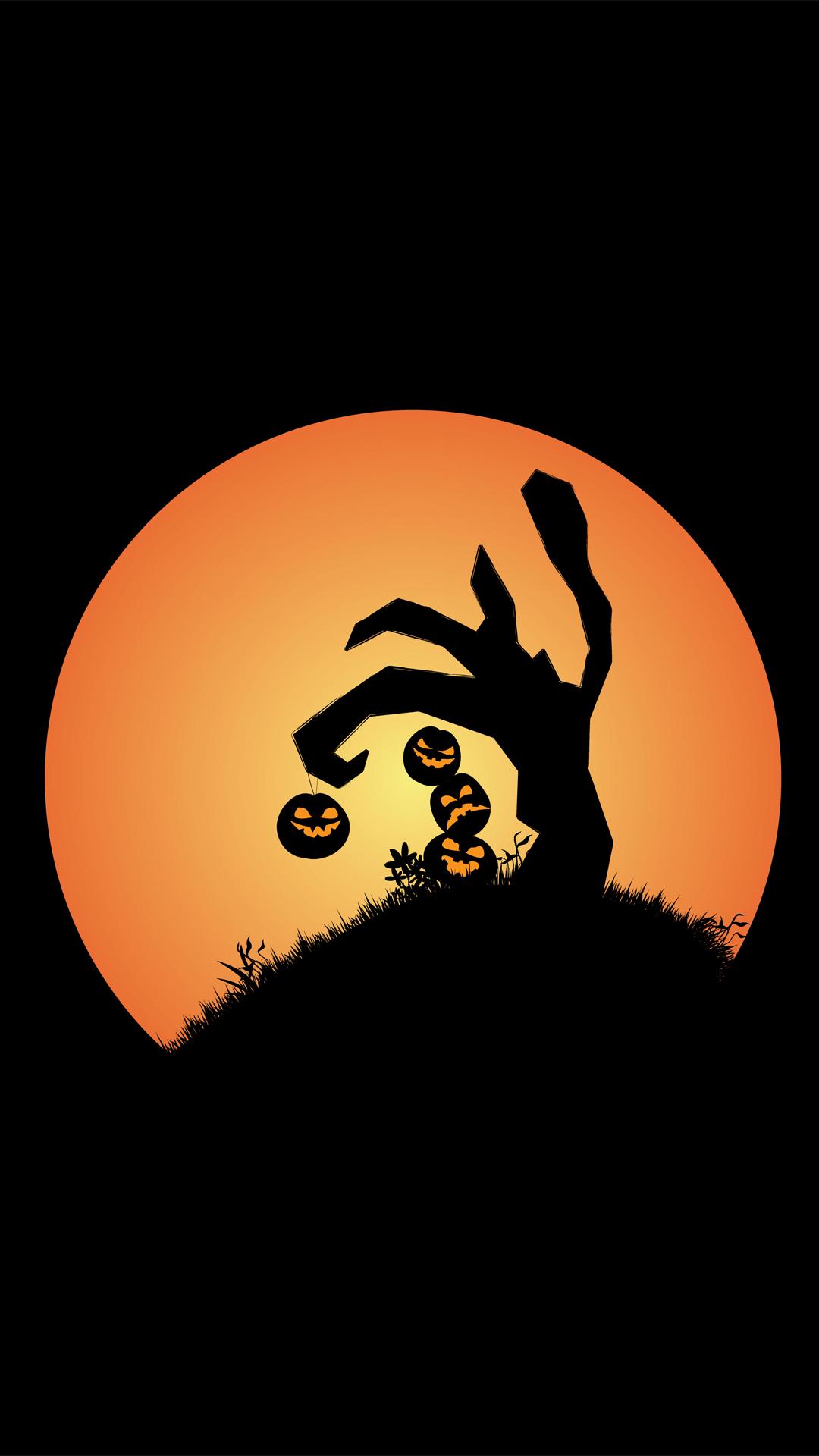 Halloween tree pumpkin