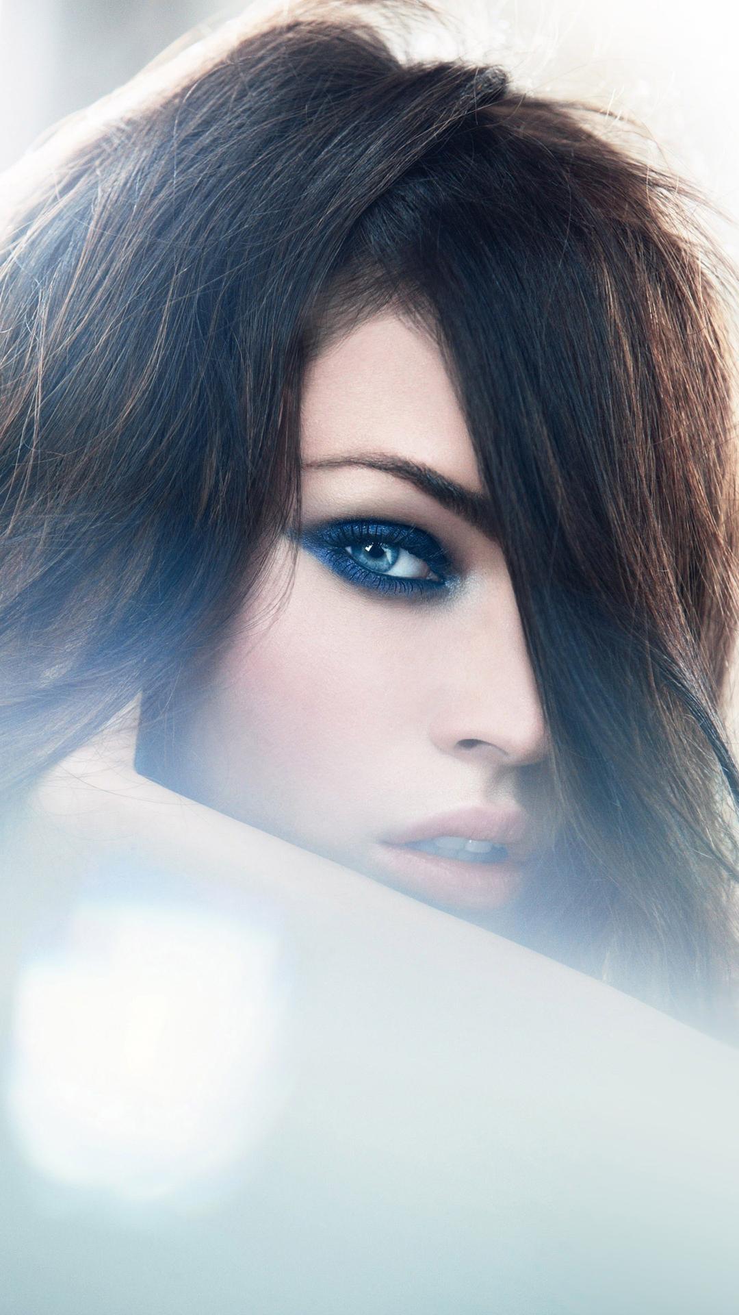 Megan Fox blue eyes
