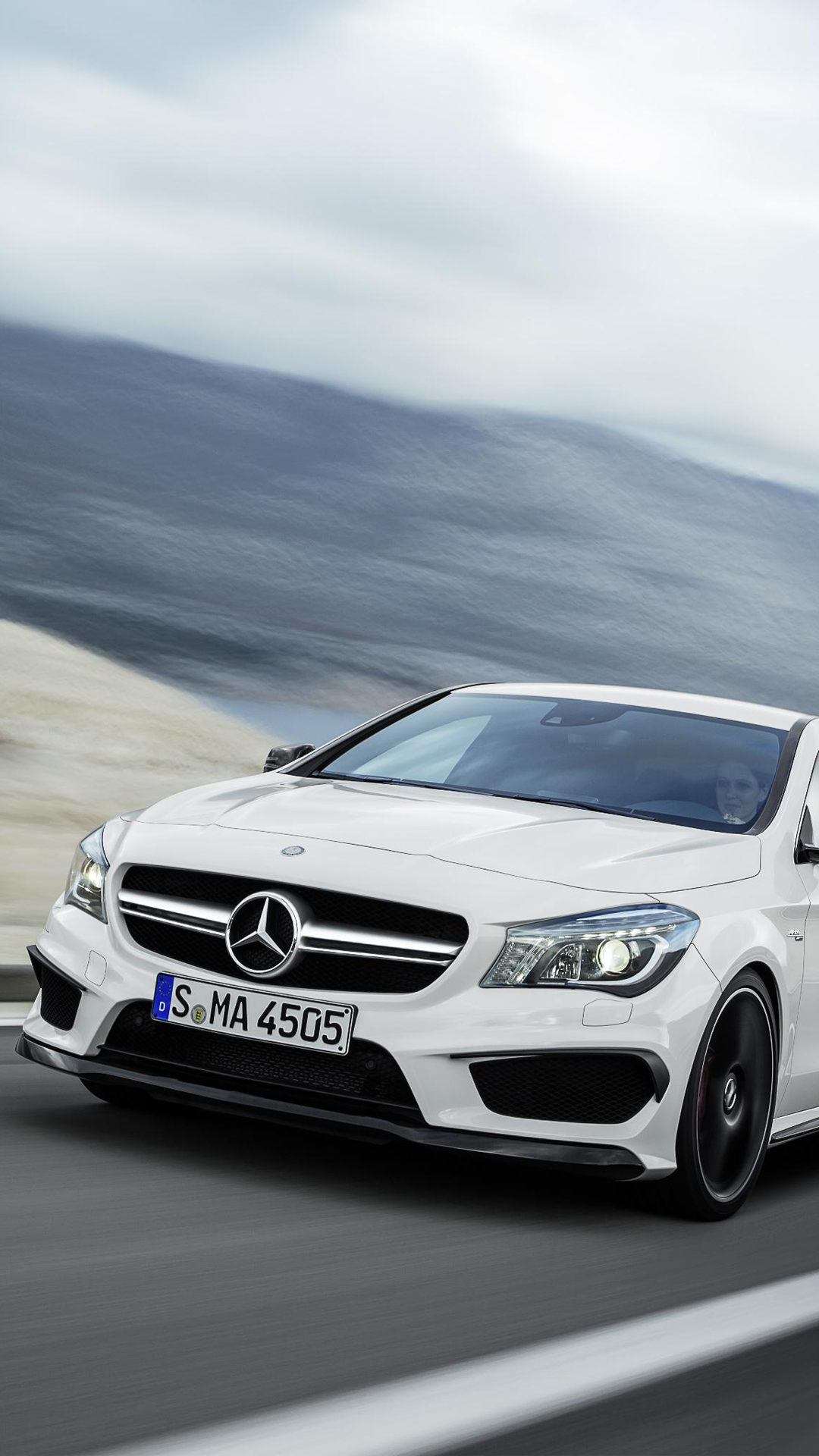 Mercedes CLA AMG HTC one wallpaper