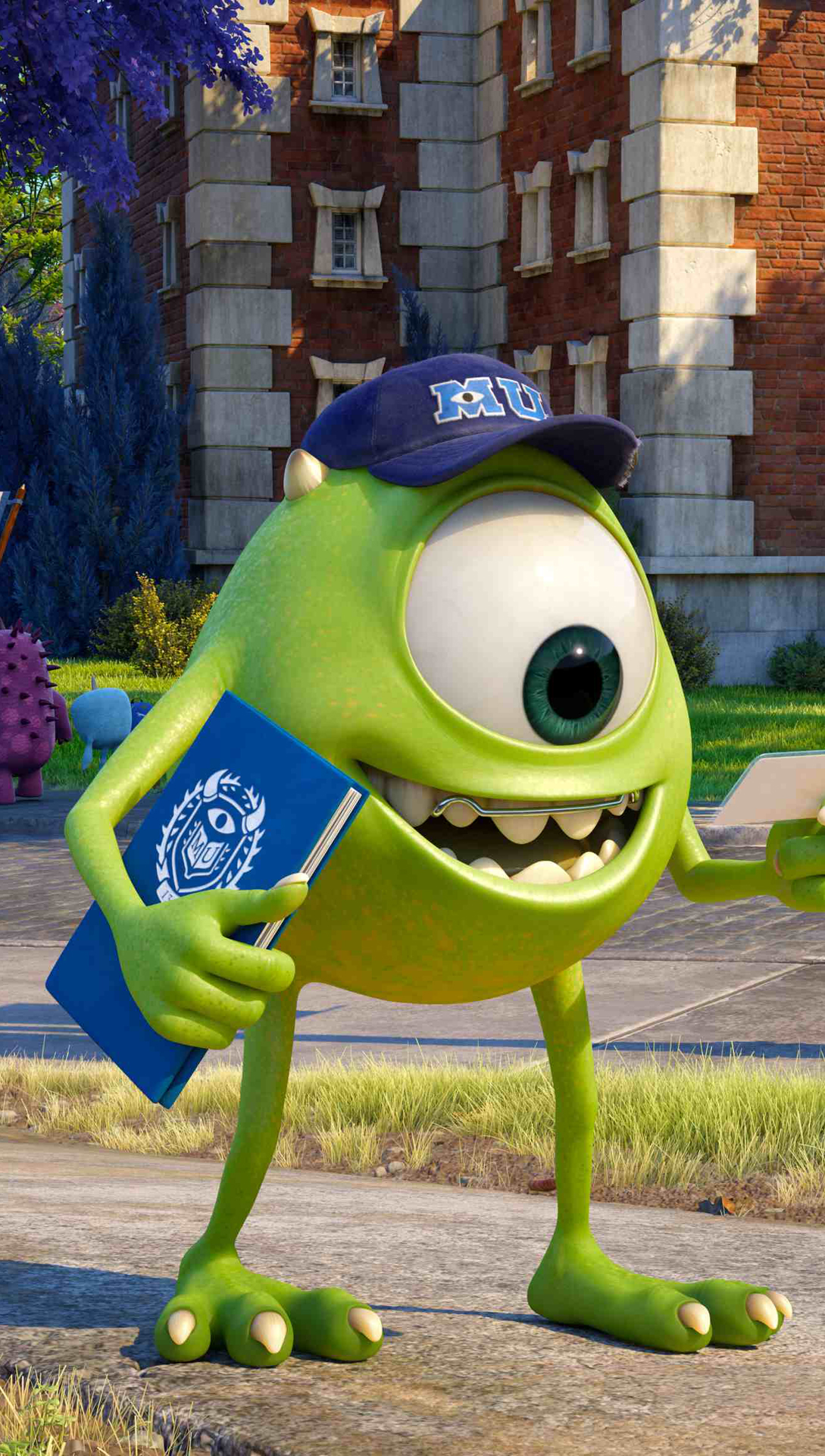 Mike wazowsk monster university best htc one wallpapers free mike wazowsk monster university voltagebd Images
