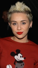 Miley Cyrus in red