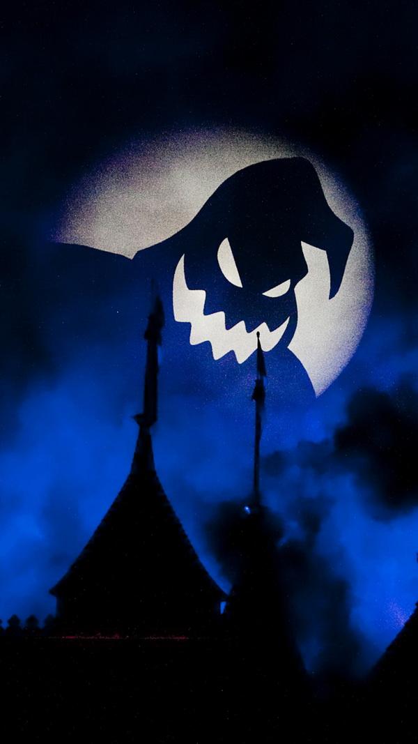 Night ghost Halloween