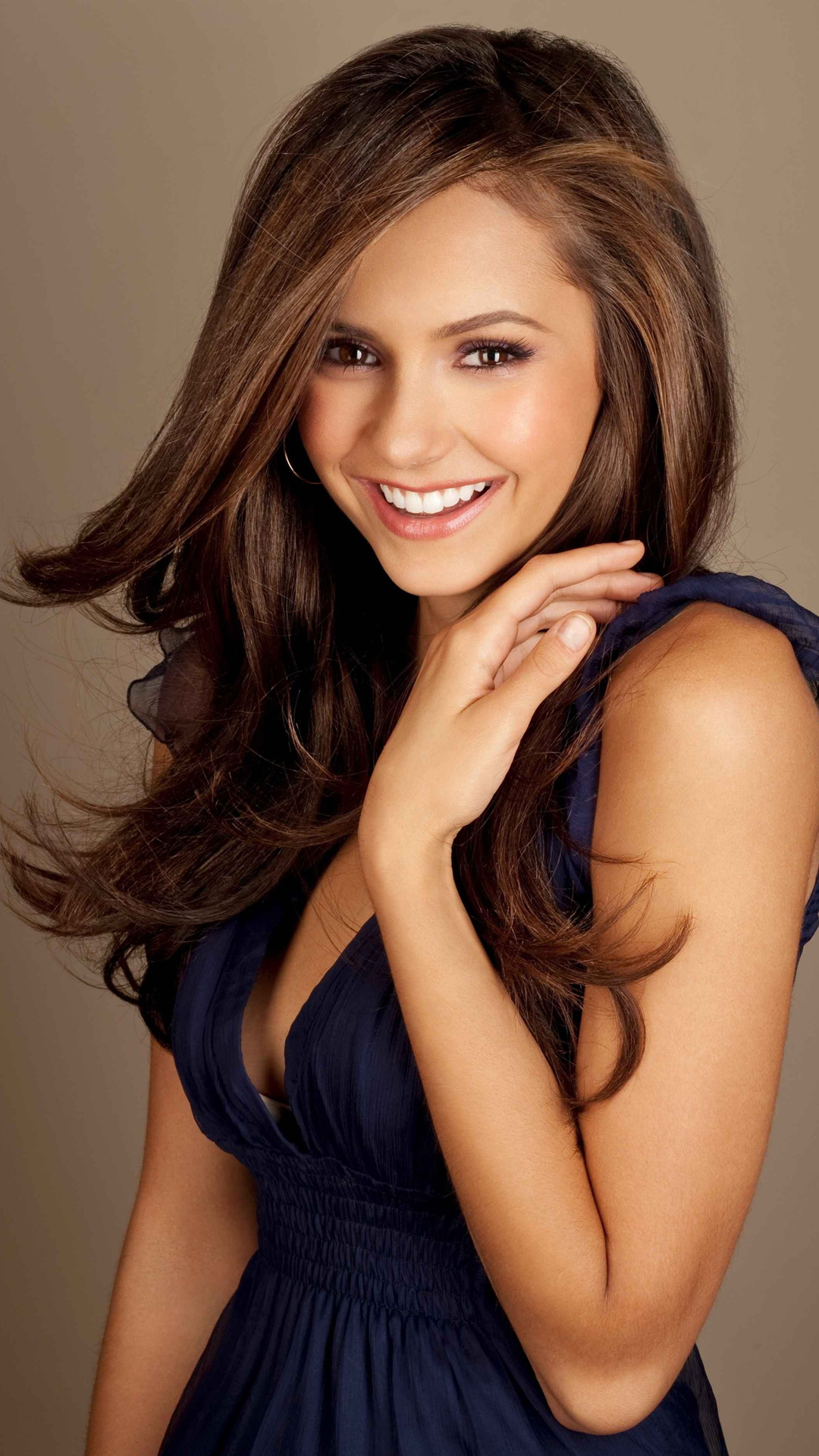 Nina Dobrev htc one wallpaper