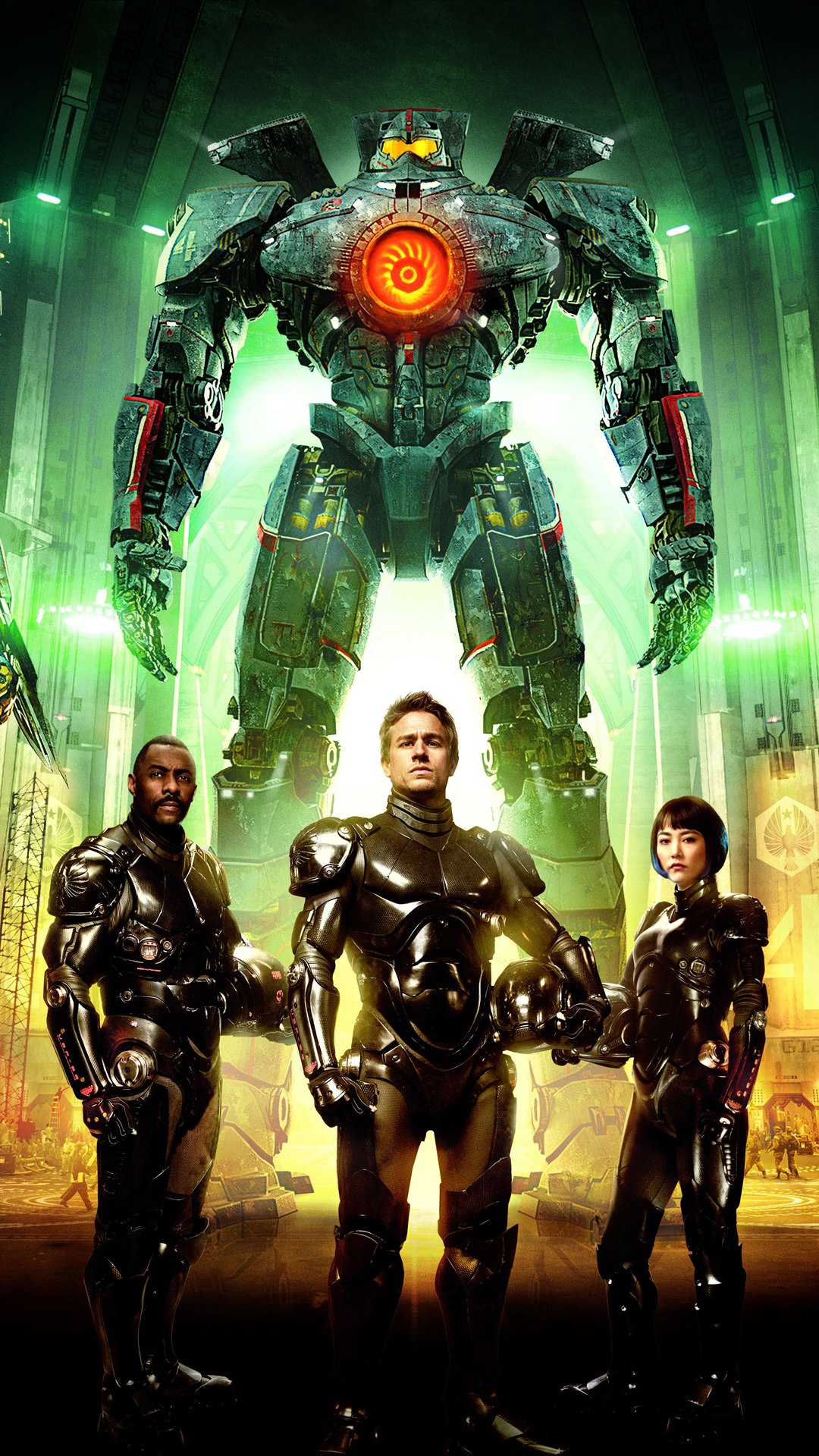 Pacific RIM crew HTC one wallpaper