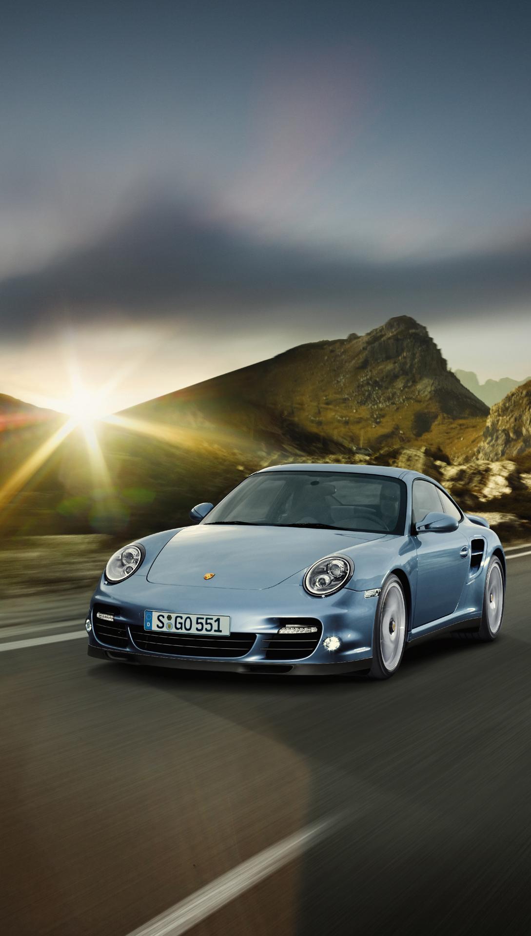 Porsche 911 turbo htc one wallpaper
