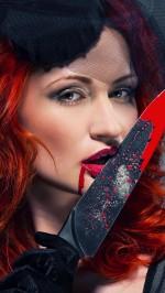 Red girl costume Halloween