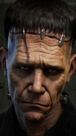 Sad Frankenstein Halloween