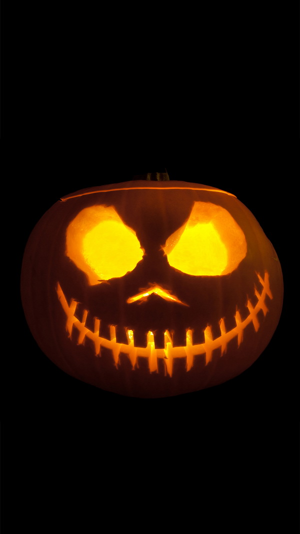 Scary Pumpkin Halloween