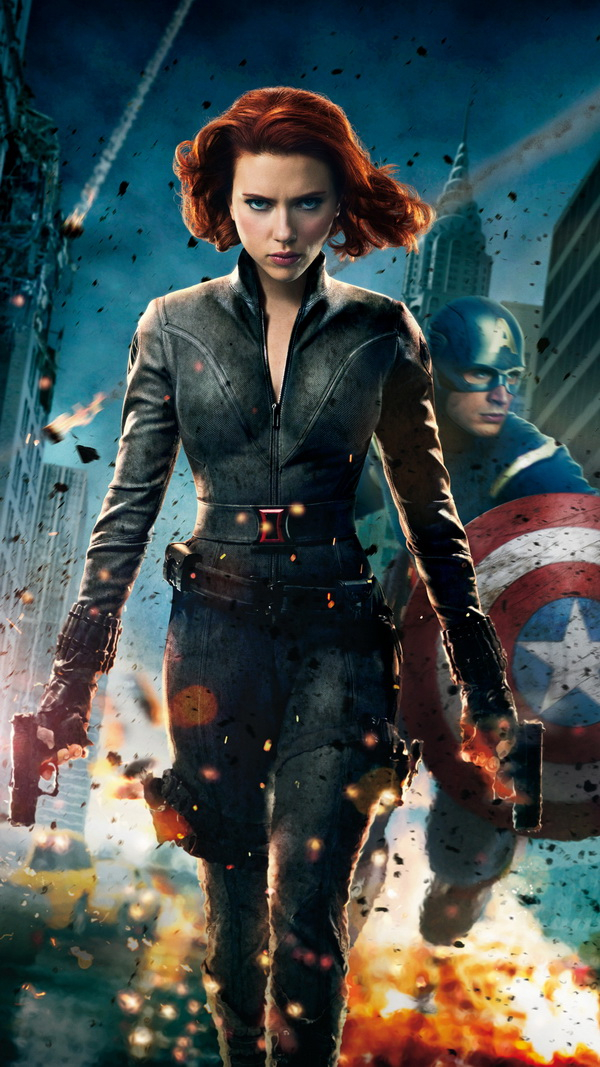 The Avengers Black Widow Best Htc One Wallpapers