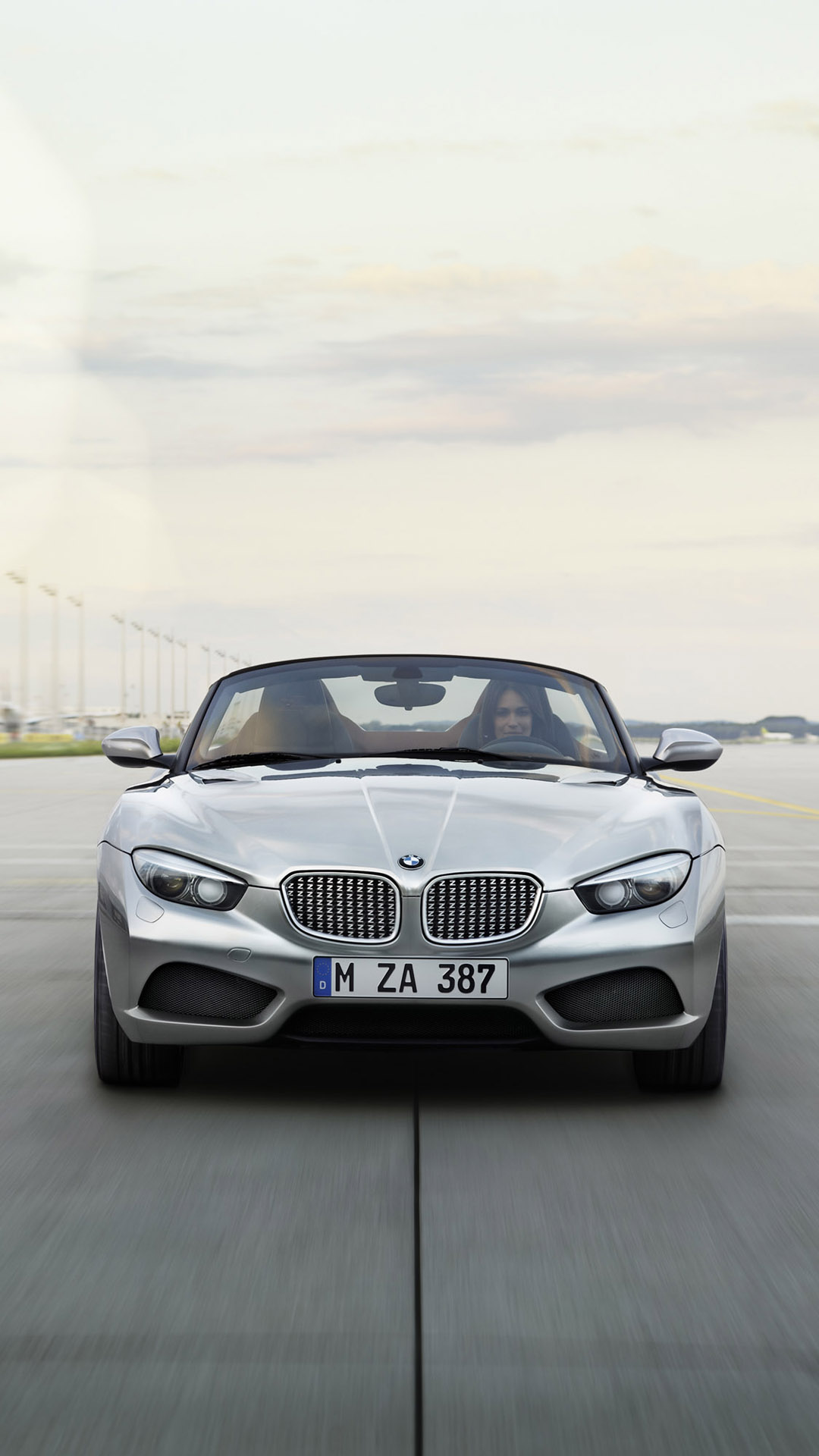 BMW Zagato roadster htc one wallpaper