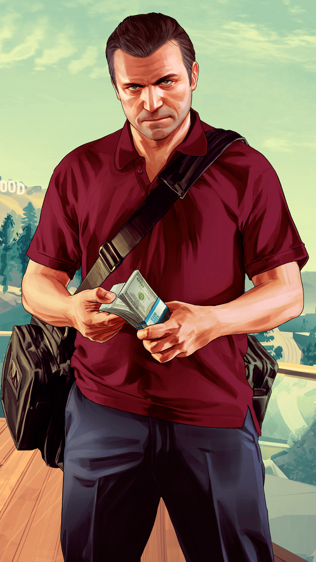 Grand theft auto htc one wallpaper