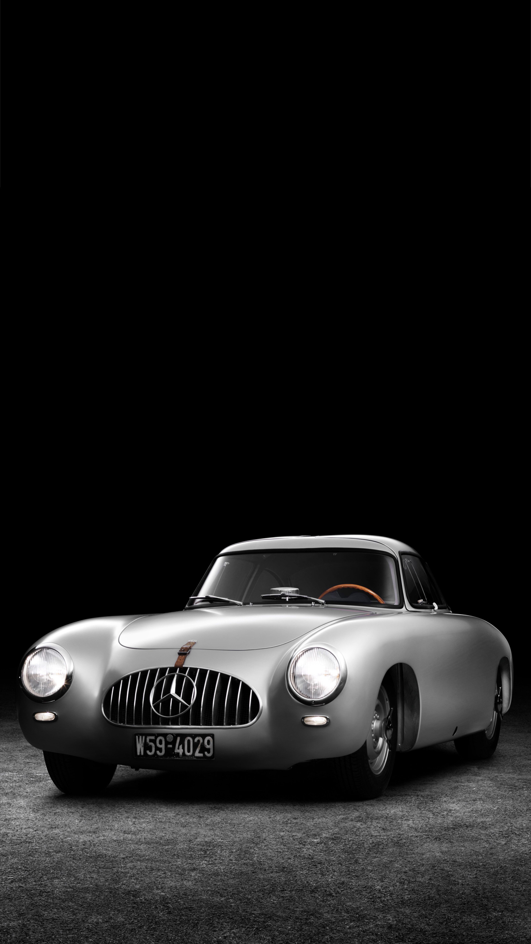 Mercedes Benz SL oldtimer HTC one wallpaper