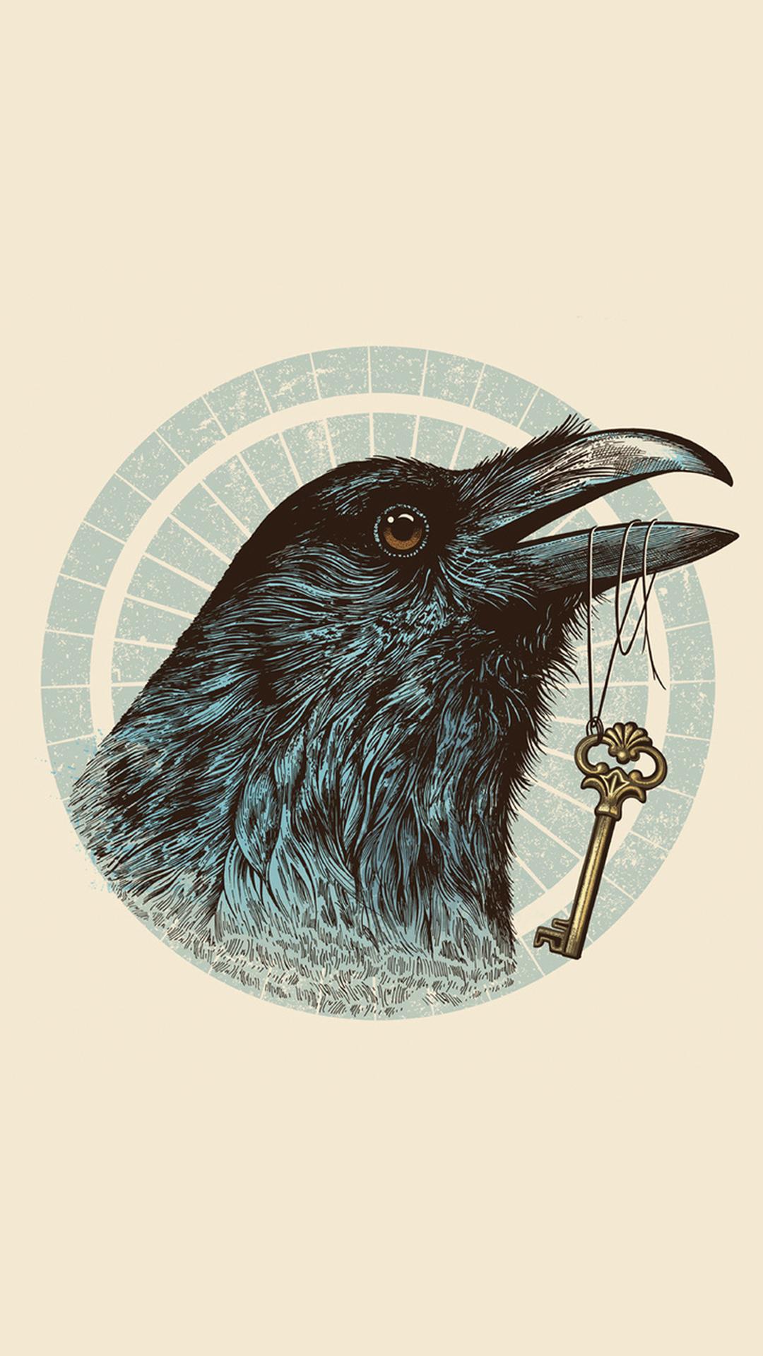 Raven eyes htc one wallpaper