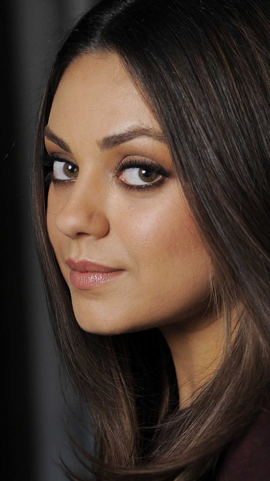 Beauty Of Mila Kunis htc one wallpaper