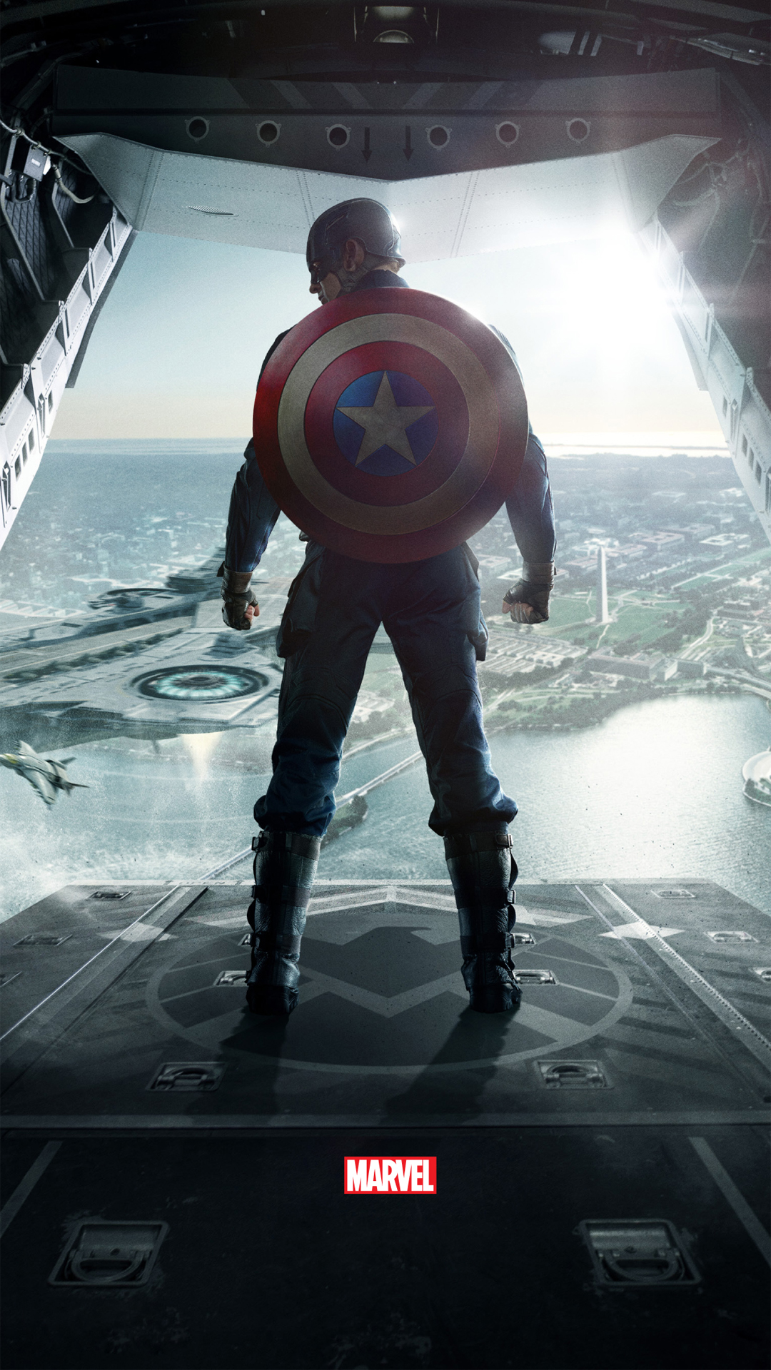Hd wallpaper of captain america - Captain America The Winter Soldier Htc One Wallpaper