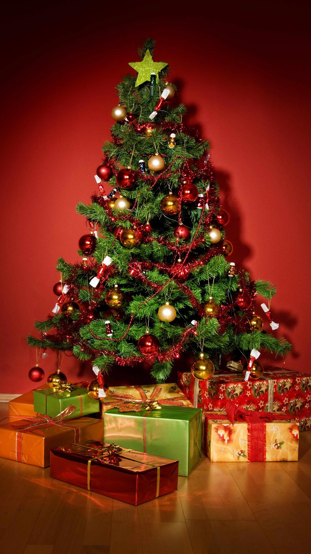 Christmas Tree htc one wallpaper