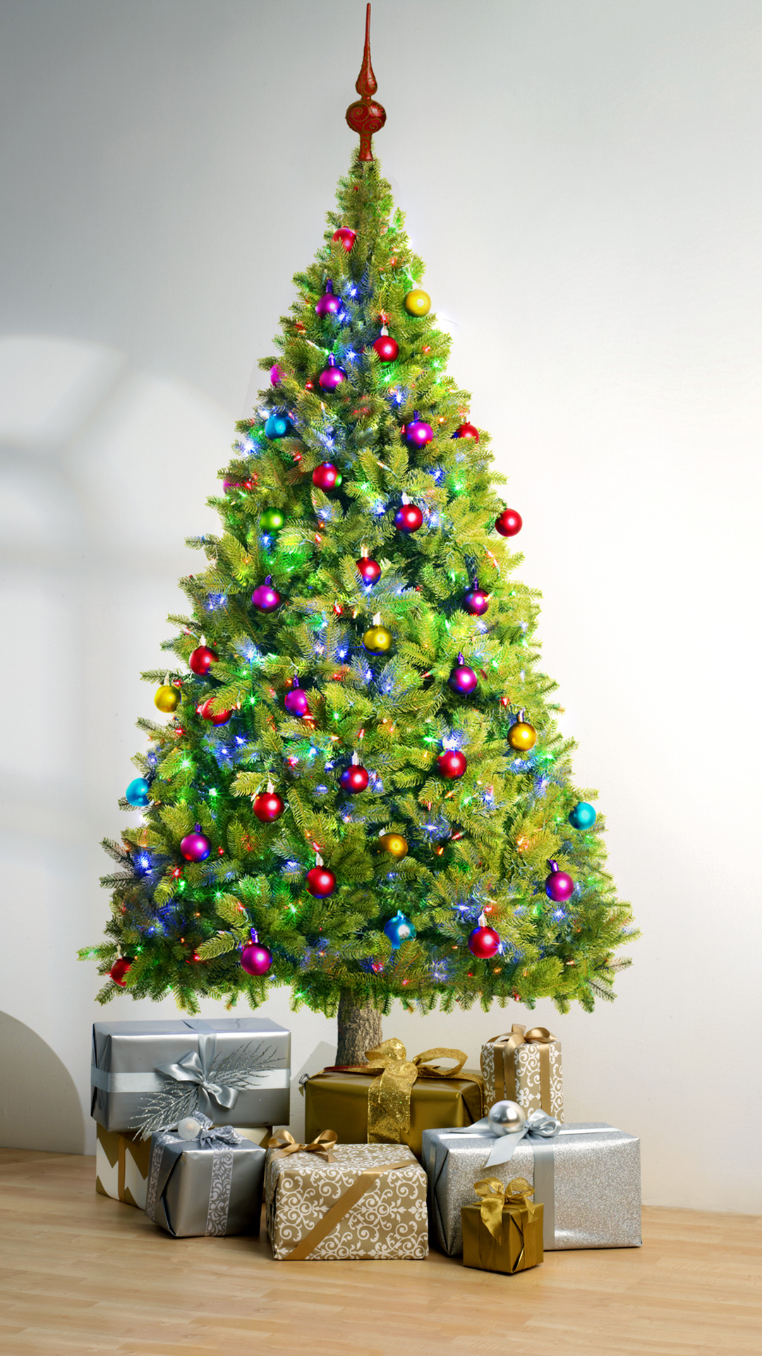Christmas Tree Best Htc One Wallpapers Free And Easy To Download