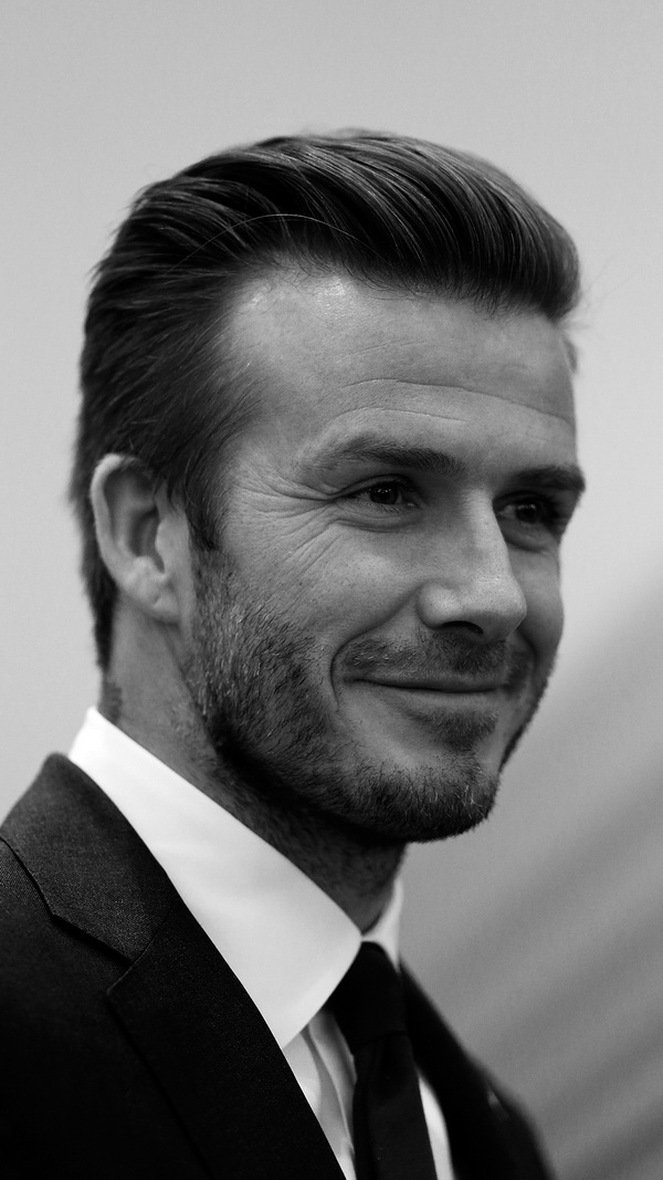David Beckham Visits Qingdao Jonoon Football Club