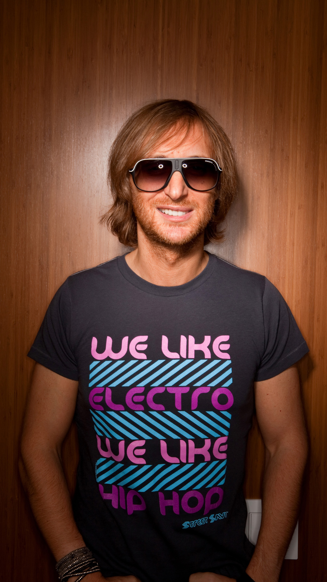 David Guetta htc one wallpaper