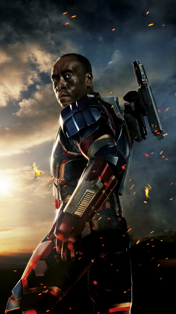 Iron Man 3 Colonel James Rhodes