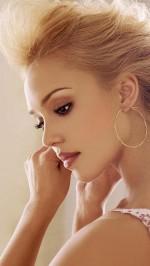 Jessica Alba htc one