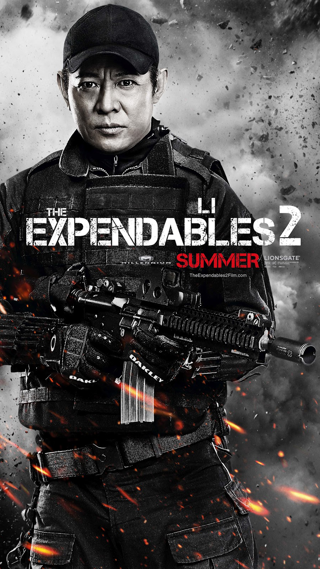 jet li the expendables 2 - best htc one wallpapers, free and easy to