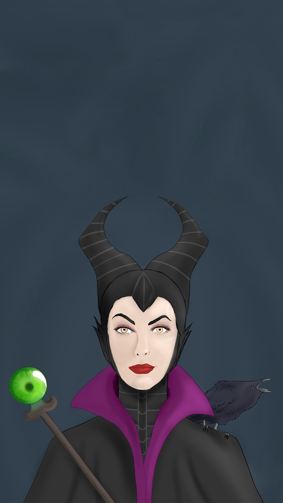 Maleficent htc one wallpaper