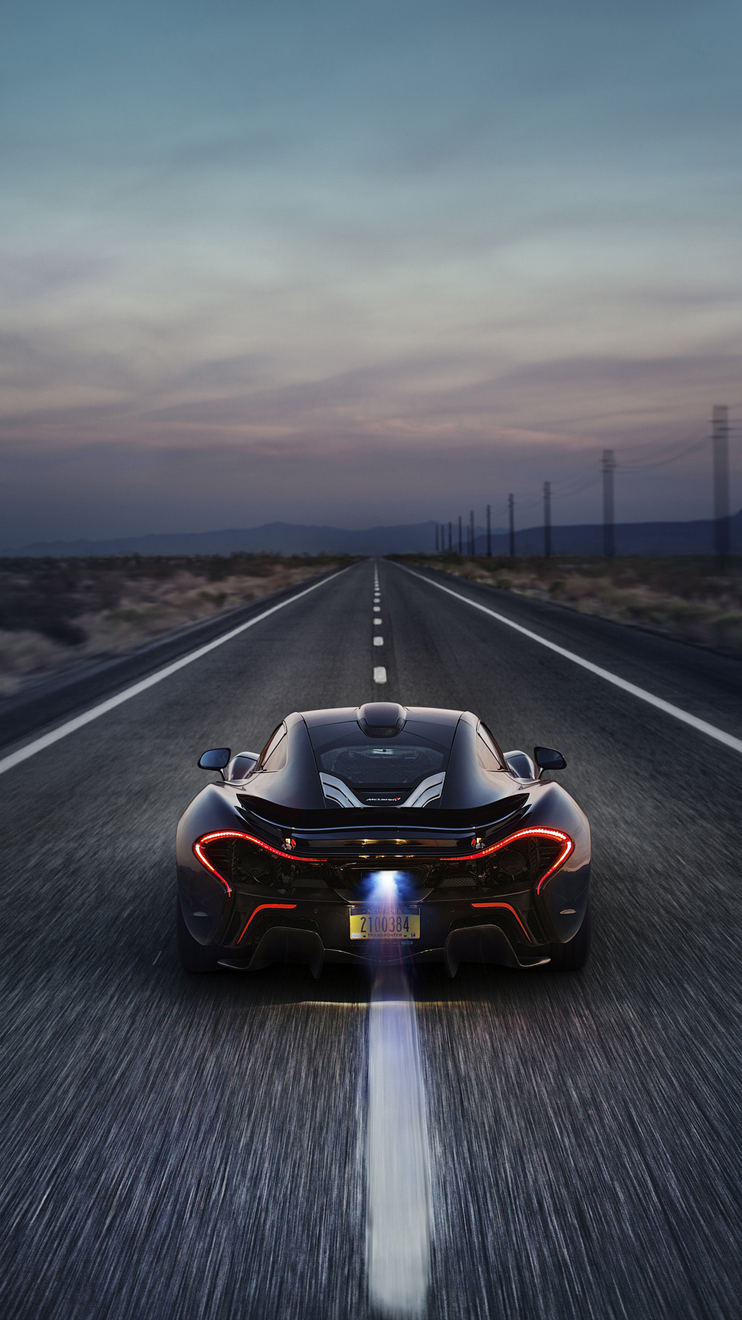McLaren P13 htc one wallpaper
