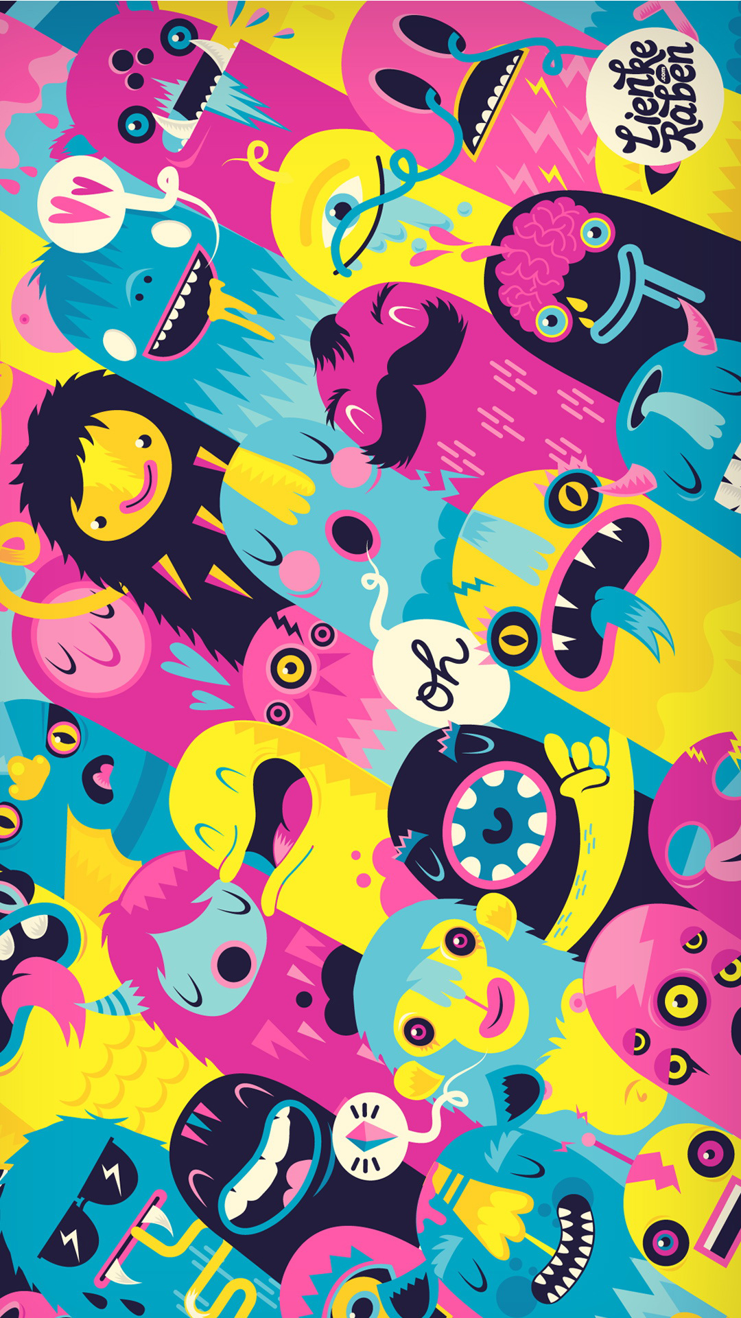 Monsters htc one wallpaper