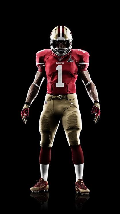 Nike - 49ers Super Bowl Uniform
