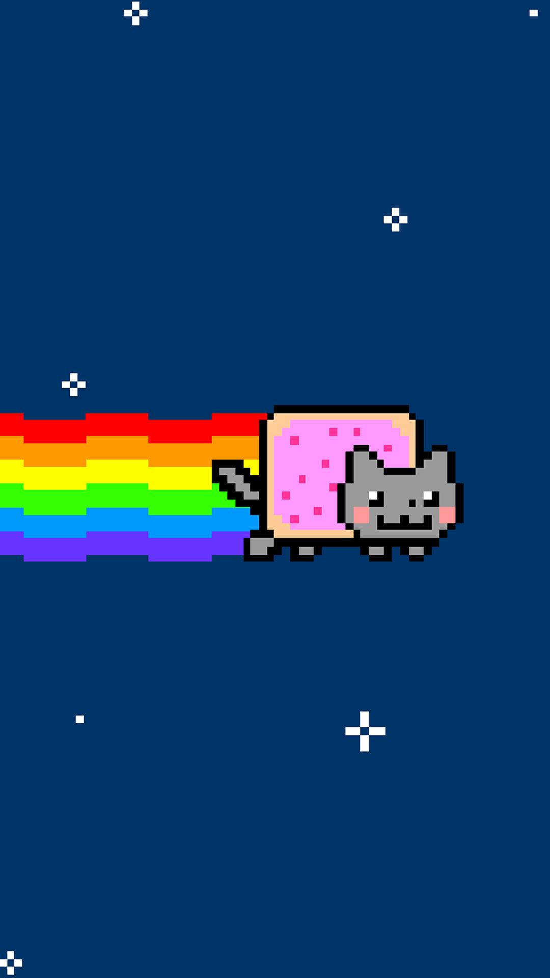 Nyan cat htc one wallpaper