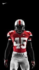 Ohio State Nike Pro Combat Football Uniform